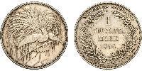 1 Mark New Guinea Silver