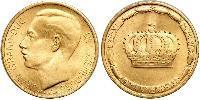 20 Франк Люксембург Золото Жан (великий герцог Люксембурга) (1921 - )