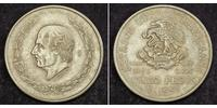 5 Peso Second Federal Republic of Mexico (1846 - 1863) Silver Miguel Hidalgo