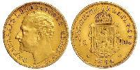 10 Lev 保加利亚 金 Ferdinand I of Bulgaria (1861 -1948)