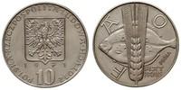 10 Zloty 波兰人民共和国 (1944 - 1989) 镍/銅