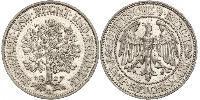 5 Mark 魏瑪共和國 (1919 - 1933) / 德国 銀