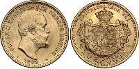 20 Крона Швеция Золото Оскар II (1829-1907)