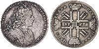 1 Rouble Empire russe (1720-1917) Argent Pierre II (1715-1730)