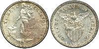 20 Centavo Filippine Argento