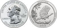 1/4 Долар / 25 Цент США (1776 - ) Срібло Джордж Вашингтон