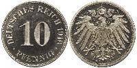 10 Pfennig Germany Copper/Nickel