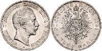 5 Mark Kingdom of Prussia (1701-1918) Silver Wilhelm II, German Emperor (1859-1941)
