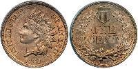 1 Cent 美利堅合眾國 (1776 - ) 镍/銅