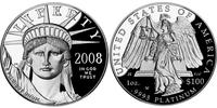 100 Доллар США (1776 - ) Платина