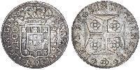 400 Reis Reino de Portugal (1139-1910) Plata