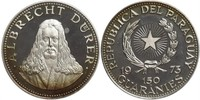 150 Guaraní Republic of Paraguay (1811 - ) Silver