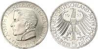 5 Mark West Germany (1949-1990) Silver Joseph Freiherr von Eichendorff