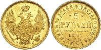 5 Rouble Empire russe (1720-1917) Or Nicolas I (1796-1855)