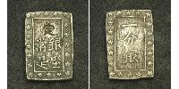 1 Bu Shogunat Tokugawa (1600-1868) Argent