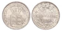 1 Kreuzer States of Germany Argent