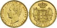 5000 Reis Kingdom of Portugal (1139-1910) Gold Ludwig I. (Portugal) (1838 - 1889)