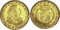 8 Escudo Peru Gold Ferdinand VI. von Spanien (1713-1759)