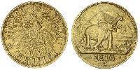 15 Rupee German East Africa (1885-1919) Gold