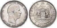 5 Drachma 希臘王國 銀 乔治一世 (希腊) (1845 - 1913)