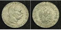 5 Corona Австро-Венгрия (1867-1918) Серебро Франц Иосиф I (1830 - 1916)