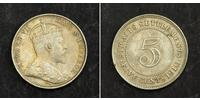 5 Цент Стрейтс-Сетлментс (1826 - 1946) Срібло Едвард VII (1841-1910)