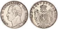 1 Thaler Grand Duchy of Hesse (1806 - 1918) Silver Louis II, Grand Duke of Hesse