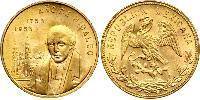 20 Peso Mexique (1867 - ) Or Miguel Hidalgo