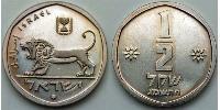 1/2 Shekel Israel (1948 - ) Kupfer/Nickel
