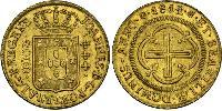 4000 Reis Brazil Gold John VI of Portugal (1767-1826)