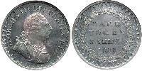 3 Шиллинг Соединённое королевство Великобритании и Ирландии (1801-1922) Серебро Георг III (1738-1820)