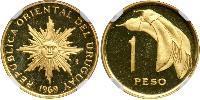 1 Песо Уругвай Золото