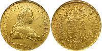 8 Escudo 智利 金 费尔南多六世 (1713-1759)