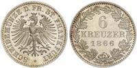 6 Kreuzer Free City of Frankfurt Silver