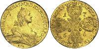 10 Ruble Russian Empire (1720-1917) Gold Catherine II (1729-1796)