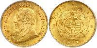 1/2 Pond Südafrika Gold Paul Kruger (1825 - 1904)