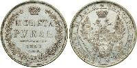 1 Rouble Empire russe (1720-1917) Argent Nicolas I (1796-1855)