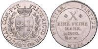 1 Thaler Waldeck (state) (1180 - 1918) Silver