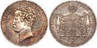 2 Thaler Anhalt-Dessau (1603 -1863) Argent Léopold IV d