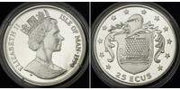 25 Ecu 曼島  伊丽莎白二世 (1926-)