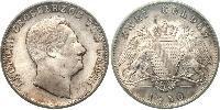 2 Гульден Великое герцогство Баден (1806-1918) Серебро Леопольд (великий герцог Баденский)(1790 – 1852)