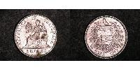 2 Real Republic of Guatemala (1838 - ) Silver