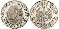 2 Reichsmark Третий рейх (1933-1945) Серебро Лютер, Мартин