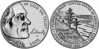 5 Cent 美利堅合眾國 (1776 - ) 镍/銅 Thomas Jefferson (1743-1826)