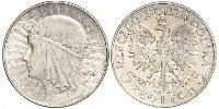 5 Zloty Second Polish Republic (1918 - 1939) Silver John III Sobieski (1629-1696)