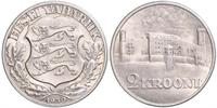 2 Krone Estonia (Republic) Silber
