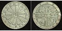 1000 Peso Uruguay Silver
