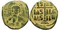1 Follis 拜占庭帝国 青铜 Romanus III Argyrus (968-1034)
