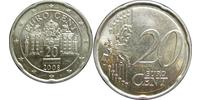 20 Eurocent Republic of Austria (1955 - ) Cuivre