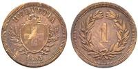 1 Rappen Switzerland Bronze